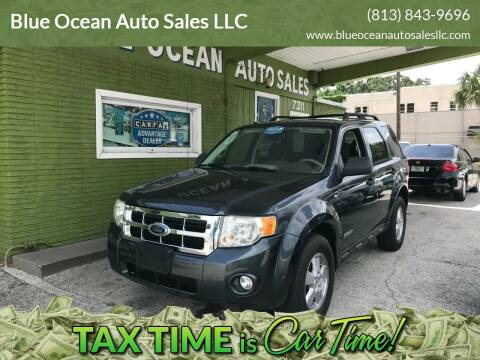 2008 Ford Escape for sale at Blue Ocean Auto Sales LLC in Tampa FL