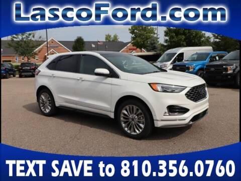 2020 Ford Edge for sale at LASCO FORD in Fenton MI