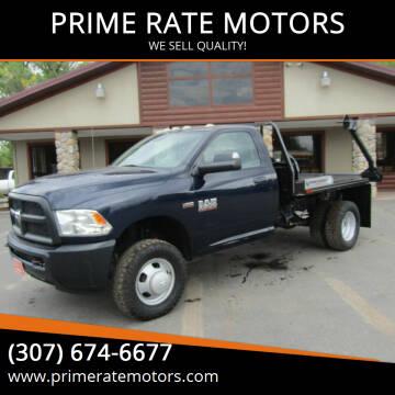 2014 RAM Ram Pickup 3500 for sale at PRIME RATE MOTORS in Sheridan WY