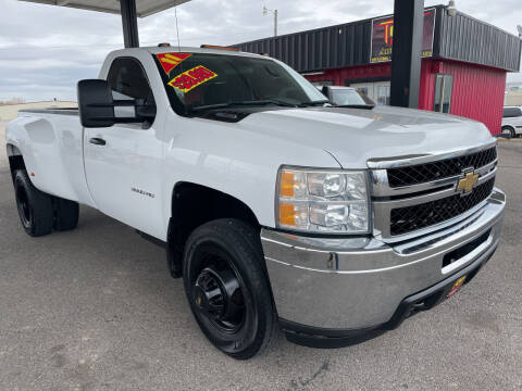 2011 Chevrolet Silverado 3500HD for sale at Top Line Auto Sales in Idaho Falls ID