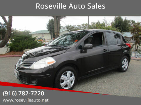2011 Nissan Versa for sale at Roseville Auto Sales in Roseville CA