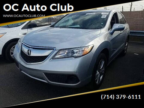 2014 Acura RDX for sale at OC Auto Club in Midway City CA