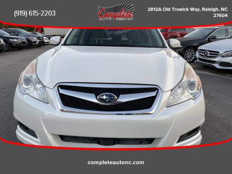 2012 Subaru Legacy for sale at Complete Auto Center , Inc in Raleigh NC