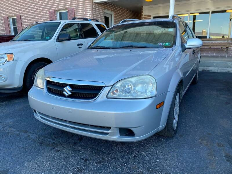 2007 Suzuki Forenza for sale at Rine's Auto Sales in Mifflinburg PA
