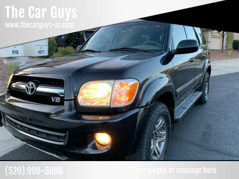 2005 Toyota Sequoia for sale at The Car Guys in Tucson AZ