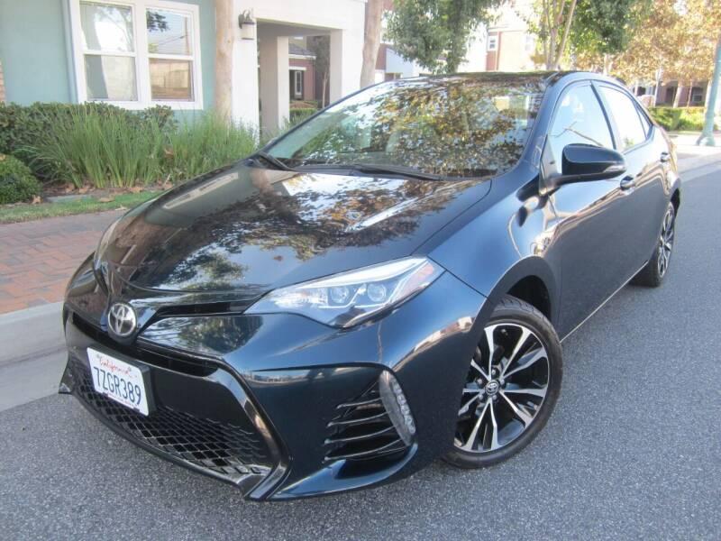 2017 Toyota Corolla for sale at PREFERRED MOTOR CARS in Covina CA