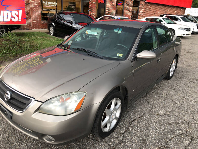 2003 Nissan Altima for sale at HW Auto Wholesale in Norfolk VA