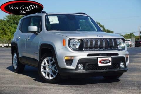 2020 Jeep Renegade for sale at Van Griffith Kia Granbury in Granbury TX