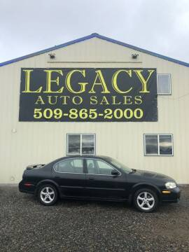 2000 Nissan Maxima for sale at Legacy Auto Sales in Toppenish WA