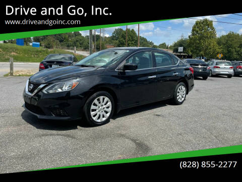 2016 Nissan Sentra for sale at Drive and Go, Inc. in Hickory NC