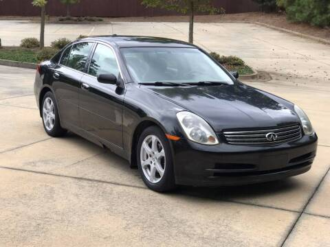 2004 Infiniti G35 for sale at Two Brothers Auto Sales in Loganville GA