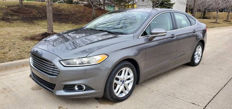 2014 Ford Fusion for sale at Western Star Auto Sales in Chicago IL
