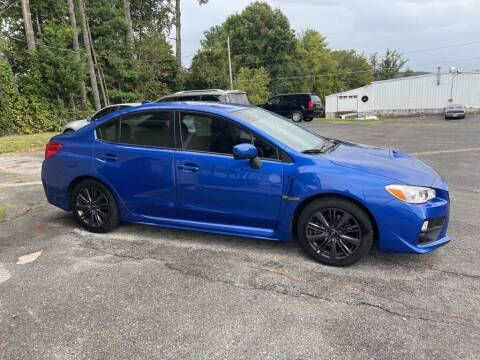 2015 Subaru WRX for sale at Family Auto Sales of Johnson City in Johnson City TN