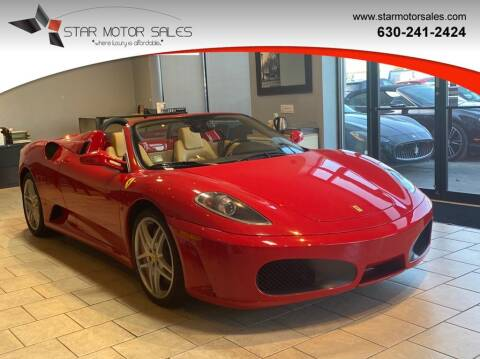 2008 Ferrari F430 Spider for sale at Star Motor Sales in Downers Grove IL