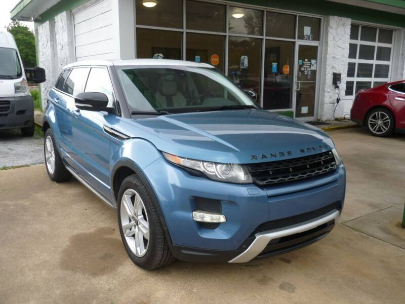 2012 Land Rover Range Rover Evoque for sale at Auto Outlet Inc. in Houston TX