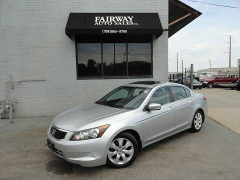 2009 Honda Accord for sale at FAIRWAY AUTO SALES, INC. in Melrose Park IL