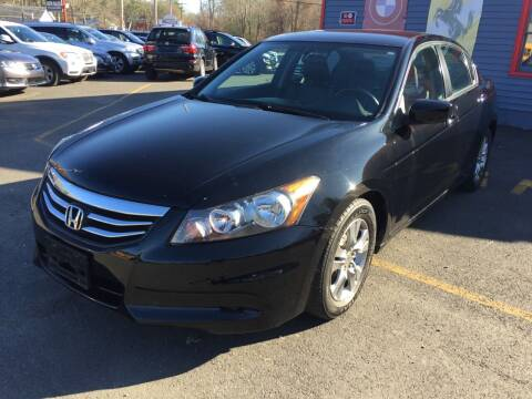 2012 Honda Accord for sale at Top Quality Auto Sales in Westport MA