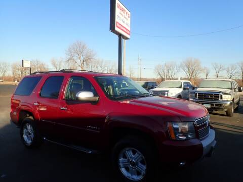 2007 Chevrolet Tahoe for sale at Marty's Auto Sales in Savage MN