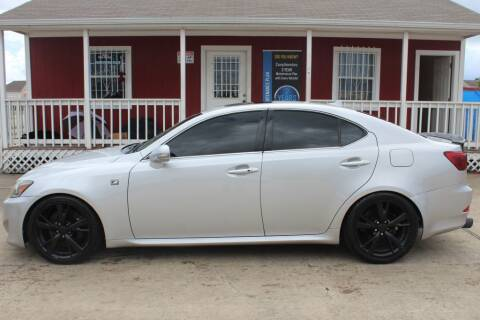 2012 Lexus IS 350 for sale at AMT AUTO SALES LLC in Houston TX