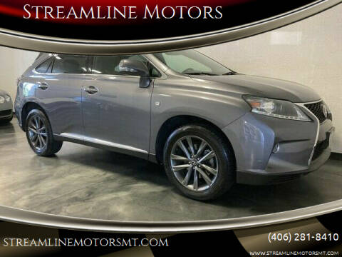 2014 Lexus RX 350 for sale at Streamline Motors in Billings MT