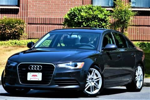 2013 Audi A6 for sale at SEATTLE FINEST MOTORS in Lynnwood WA