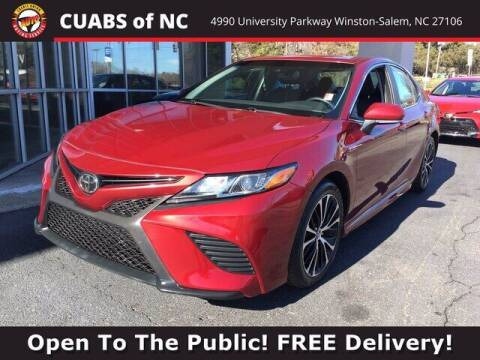 2018 Toyota Camry for sale at Credit Union Auto Buying Service in Winston Salem NC