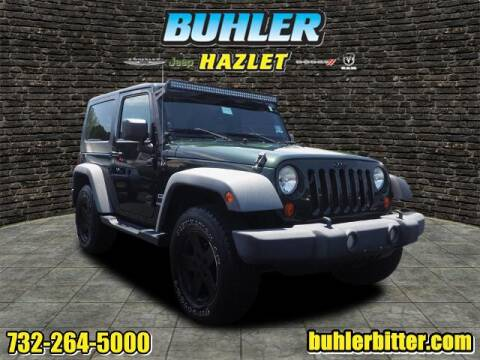 2010 Jeep Wrangler for sale at Buhler and Bitter Chrysler Jeep in Hazlet NJ