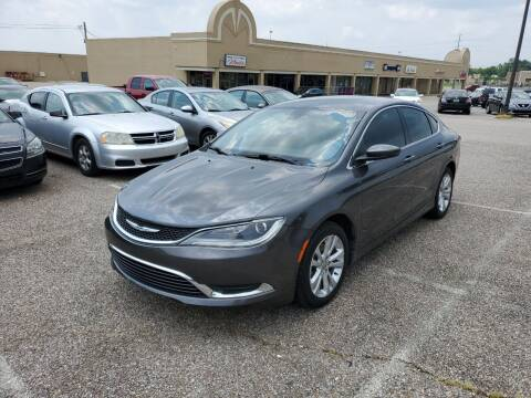 2015 Chrysler 200 for sale at 2nd Chance Auto Sales in Montgomery AL