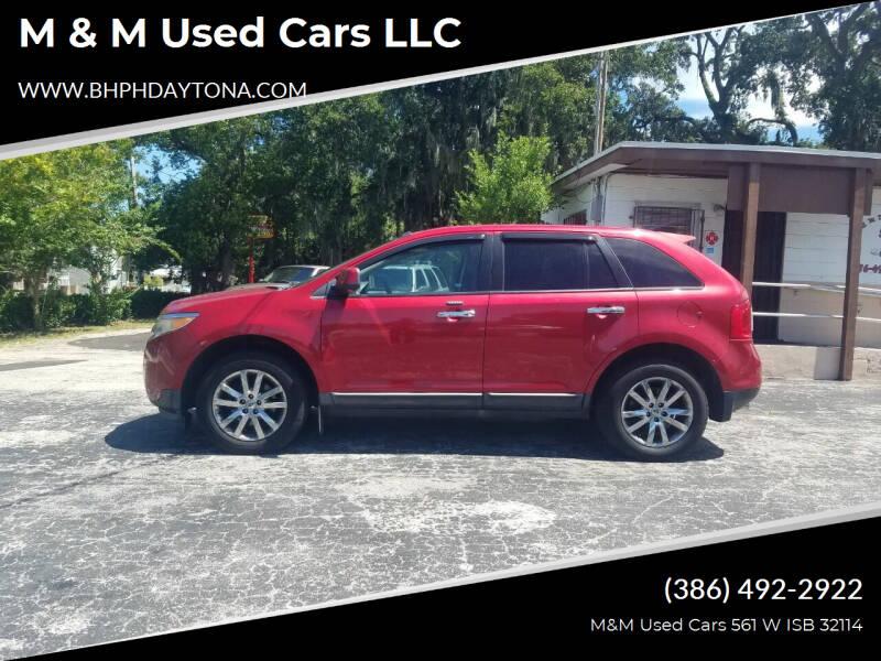 2011 Ford Edge for sale at M & M Used Cars LLC in Daytona Beach FL