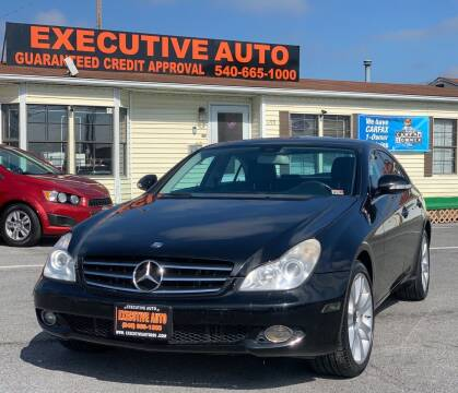 2008 Mercedes-Benz CLS for sale at Executive Auto in Winchester VA