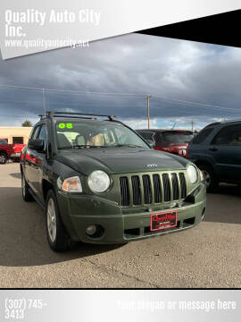 2008 Jeep Compass for sale at Quality Auto City Inc. in Laramie WY