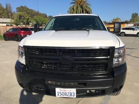 2010 Chevrolet Silverado 2500HD for sale at MISSION AUTOS in Hayward CA