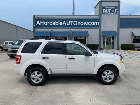 2009 Ford Escape for sale at Affordable Autos in Houma LA