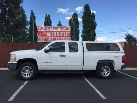 2012 Chevrolet Silverado 1500 for sale at Flagstaff Auto Outlet in Flagstaff AZ