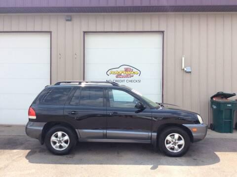 2005 Hyundai Santa Fe for sale at The AutoFinance Center in Rochester MN