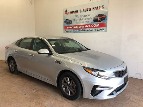 2020 Kia Optima for sale at Antonio's Auto Sales in South Houston TX
