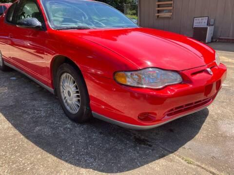 2001 Chevrolet Monte Carlo for sale at Peppard Autoplex in Nacogdoches TX