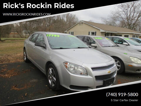 2011 Chevrolet Malibu for sale at Rick's Rockin Rides in Reynoldsburg OH