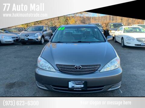 2003 Toyota Camry for sale at 77 Auto Mall in Newark NJ