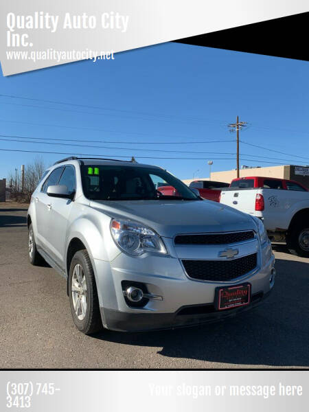 2011 Chevrolet Equinox for sale at Quality Auto City Inc. in Laramie WY
