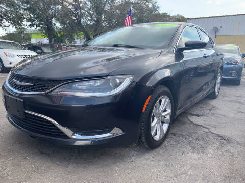 2016 Chrysler 200 for sale at Bargain Auto Sales in West Palm Beach FL