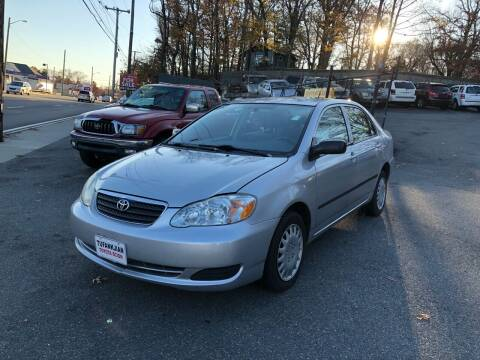 2007 Toyota Corolla for sale at Emory Street Auto Sales and Service in Attleboro MA