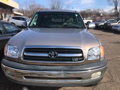 2002 Toyota Tundra for sale at Northtown Auto Sales in Spring Lake MN