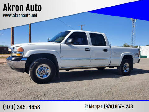 2007 GMC Sierra 1500HD Classic for sale at Akron Auto in Akron CO