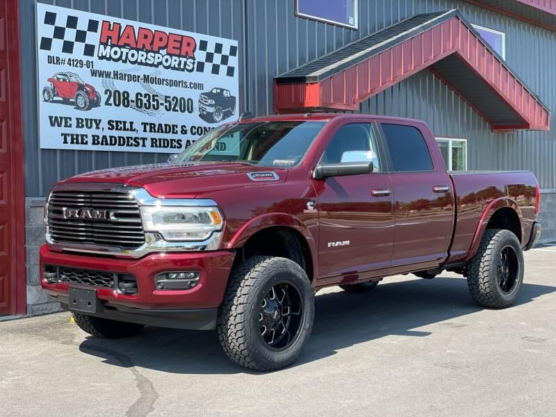2021 RAM Ram Pickup 2500 for sale at Harper Motorsports-Vehicles in Post Falls ID
