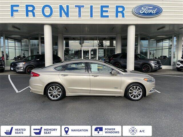 2017 Ford Fusion Energi for sale in Anacortes, WA