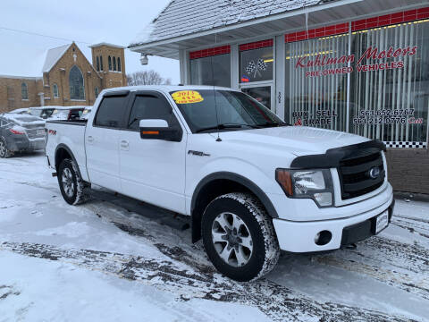 2013 Ford F-150 for sale at KUHLMAN MOTORS in Maquoketa IA