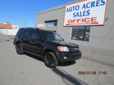 2002 Toyota Sequoia for sale at Auto Acres in Billings MT