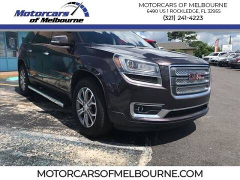 2015 GMC Acadia for sale at Motorcars of Melbourne in Rockledge FL