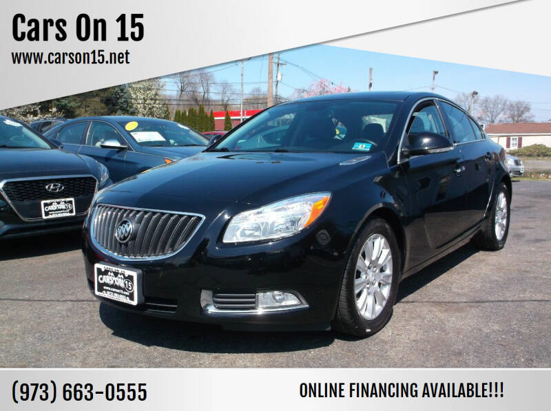 2013 Buick Regal for sale at Cars On 15 in Lake Hopatcong NJ